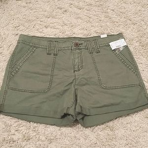 Army Olive Green Shorts 9/10